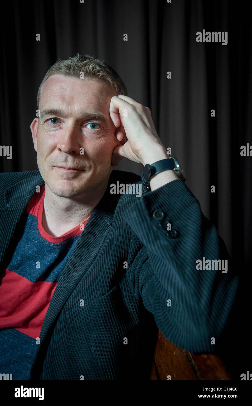 David Mitchell  Two globally acclaimed writers Ð admirers of each otherÕs work Ð met on stage for - Stock Image