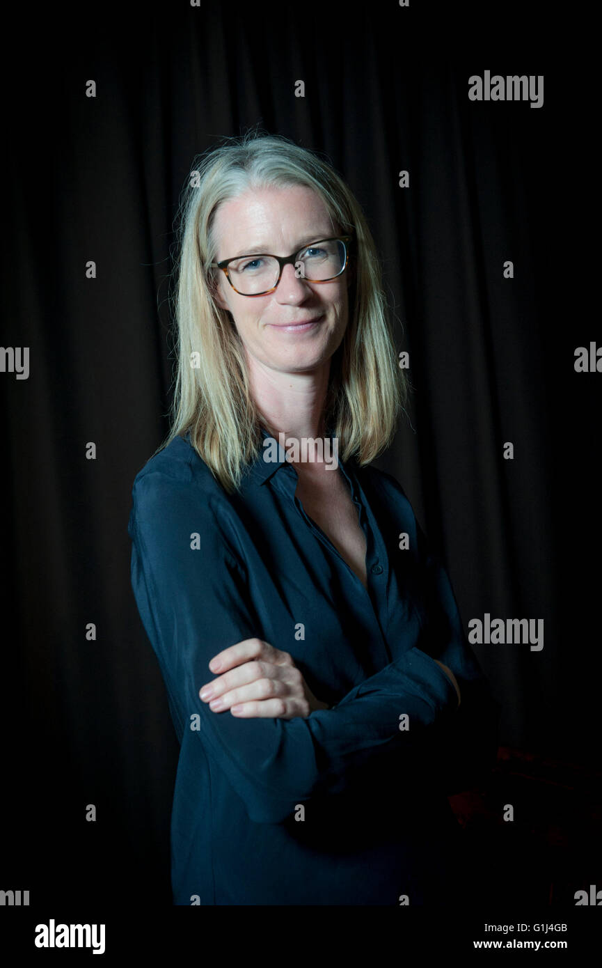 arts promoter Eleanor O'Keefe joint founder of 5 x15 - Stock Image