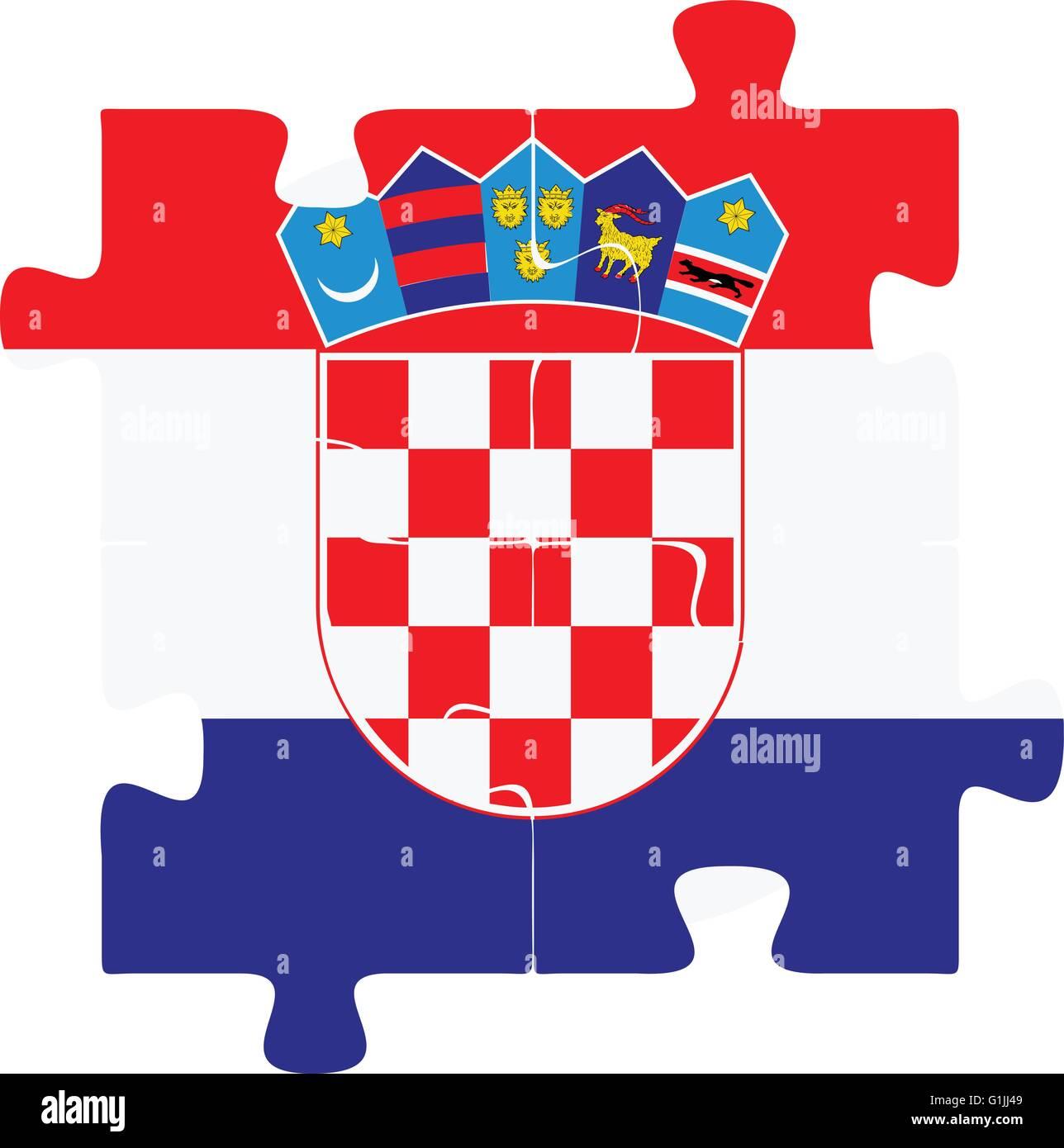 National Symbols Flag Croatia Stock Photos National Symbols Flag