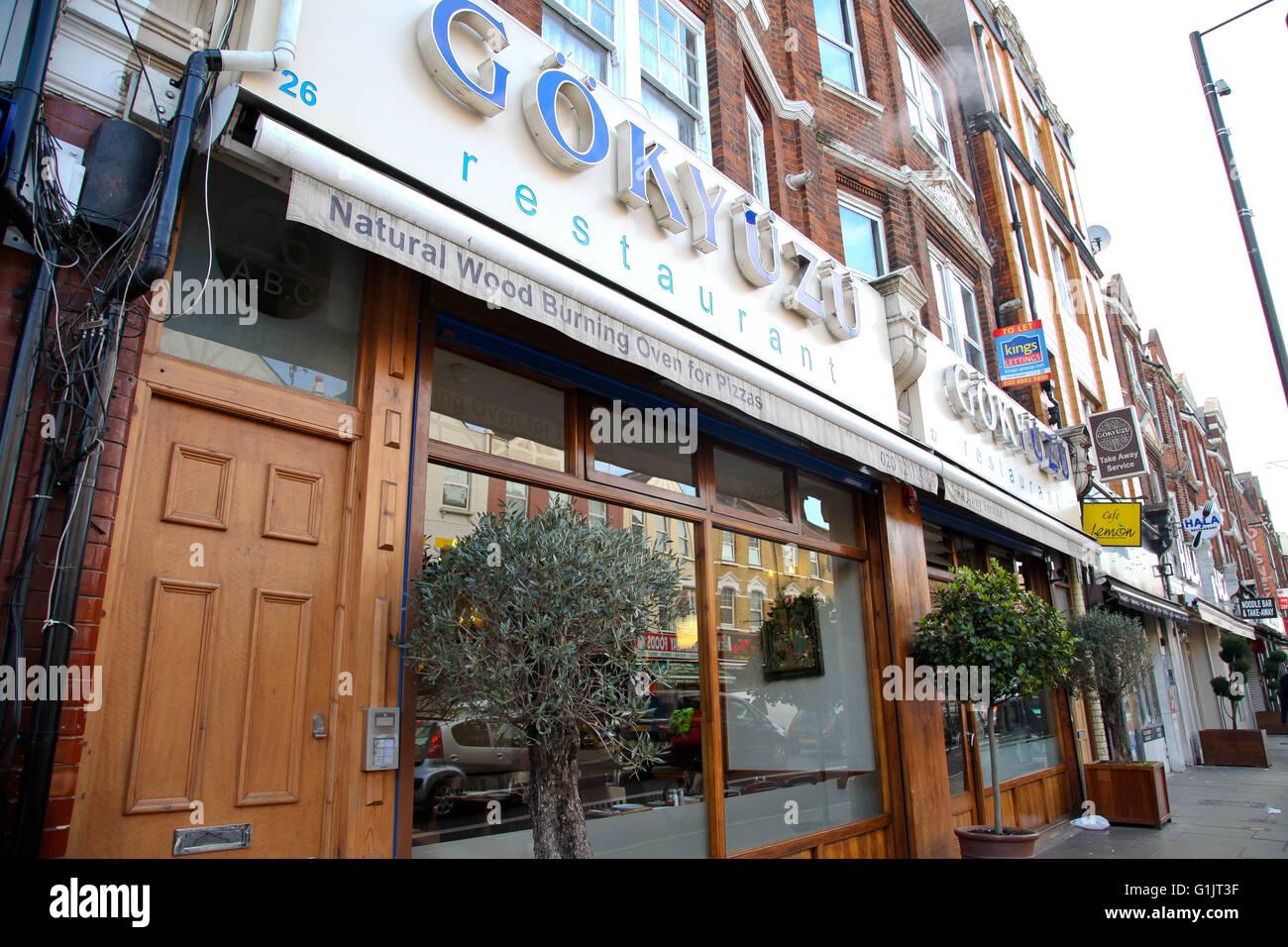 Turkish Restaurant City Road
