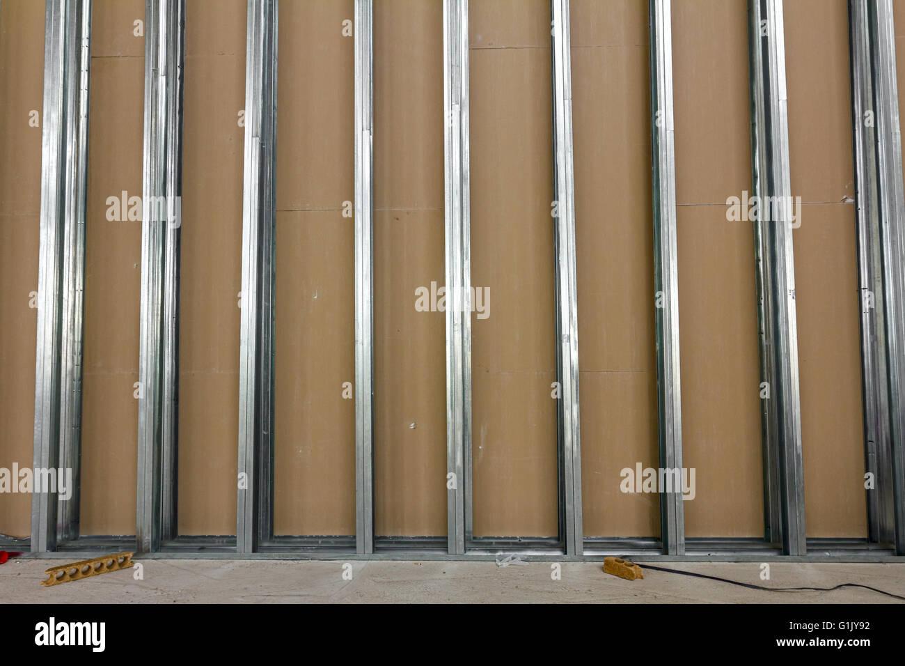 Stud Wall Frame Stock Photos & Stud Wall Frame Stock Images - Alamy