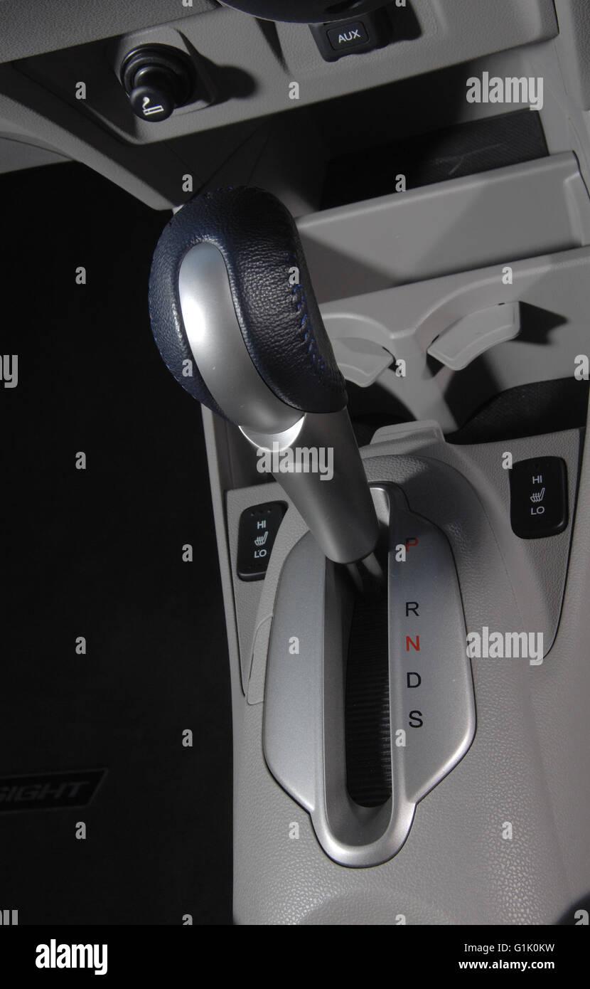 2009 Honda Insight hybrid family hatchback car automatic gear shift