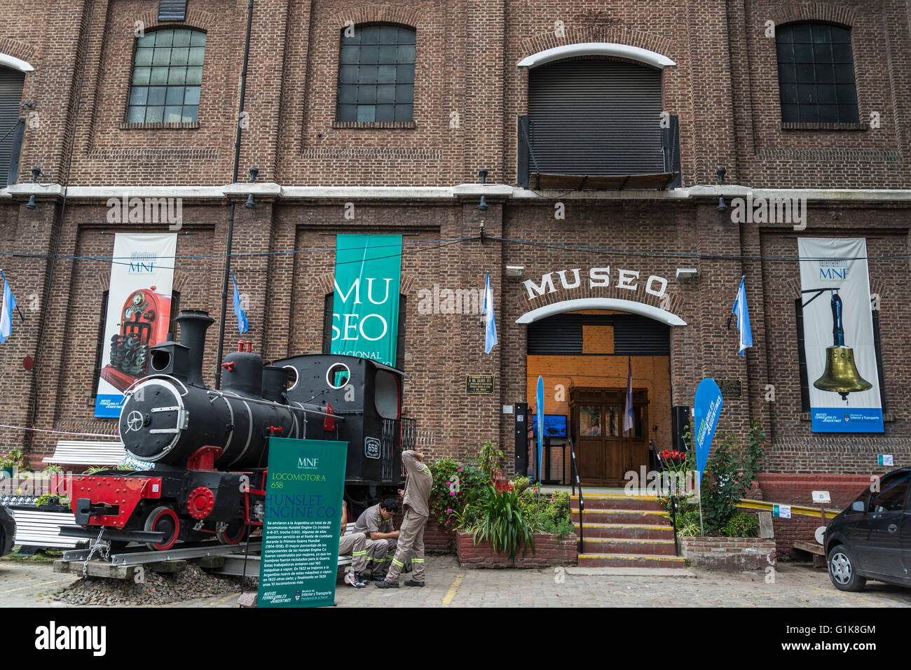 National Railway Museum, Buenos Aires, Argentina - Stock Image