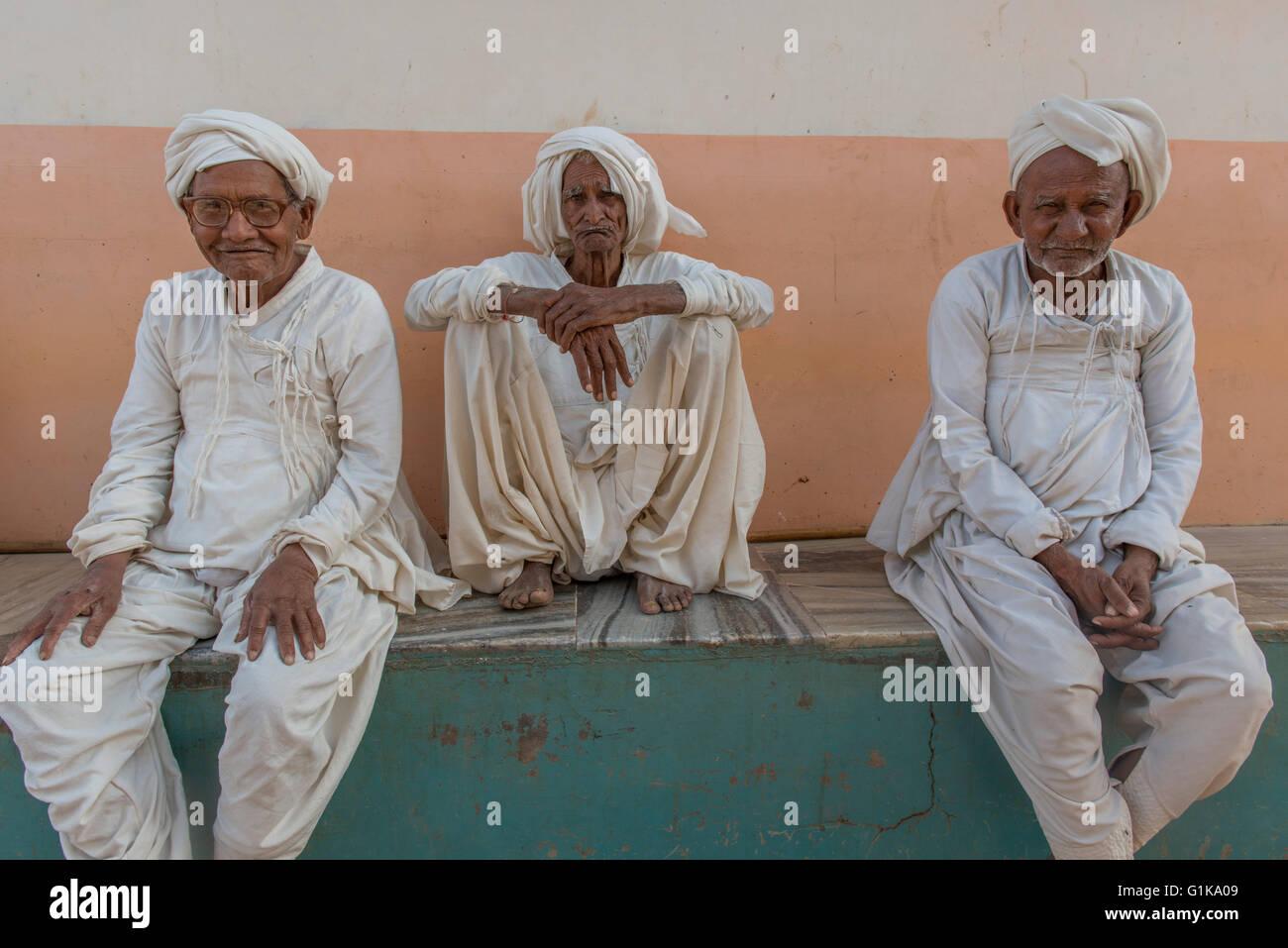 Ahir Men, Kutch - Stock Image