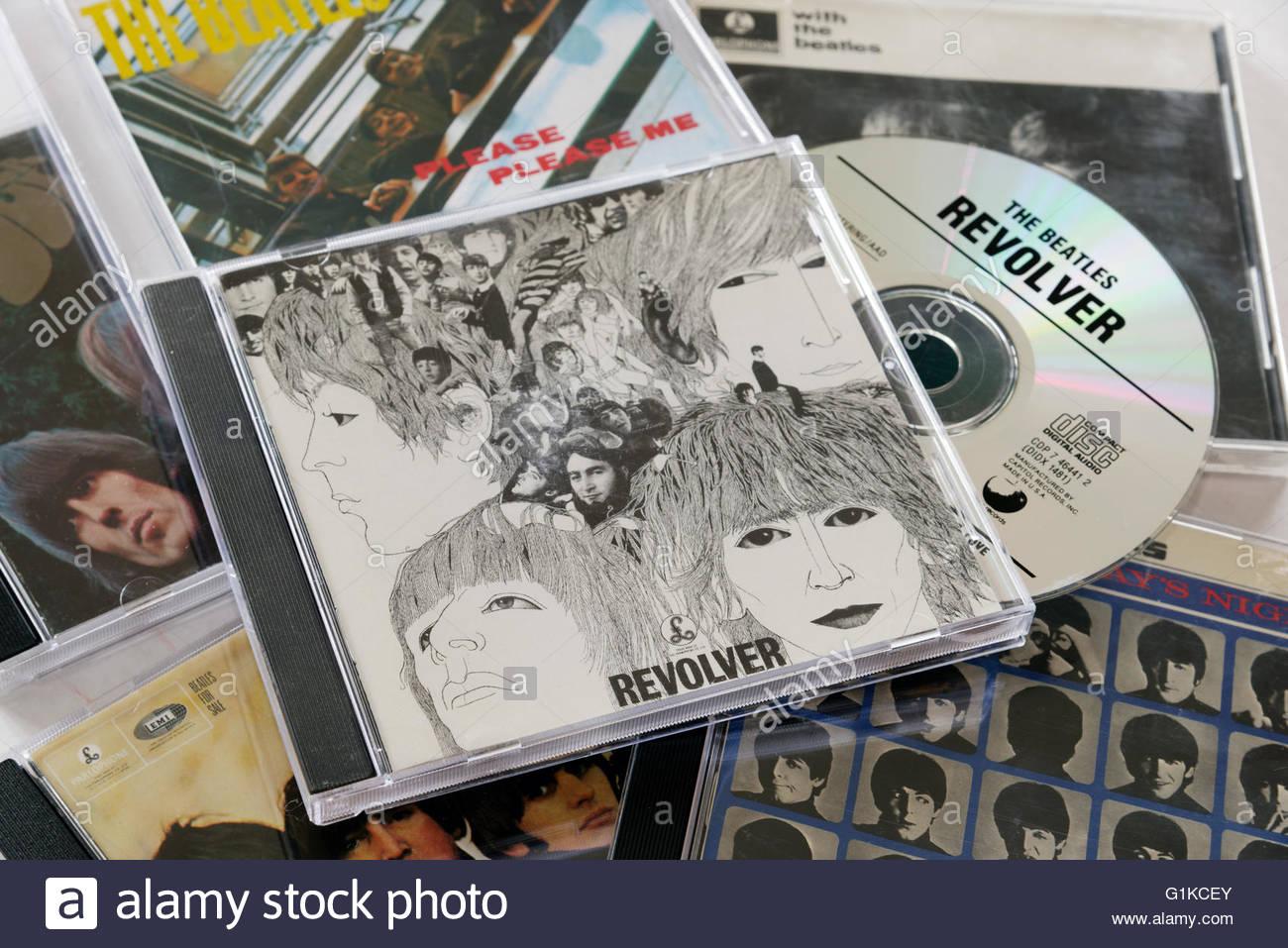 Beatles Revolver CD Stock Photo: 104303779 - Alamy