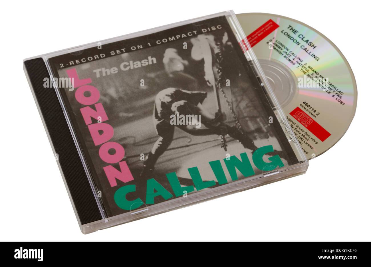 The Clash London Calling CD - Stock Image