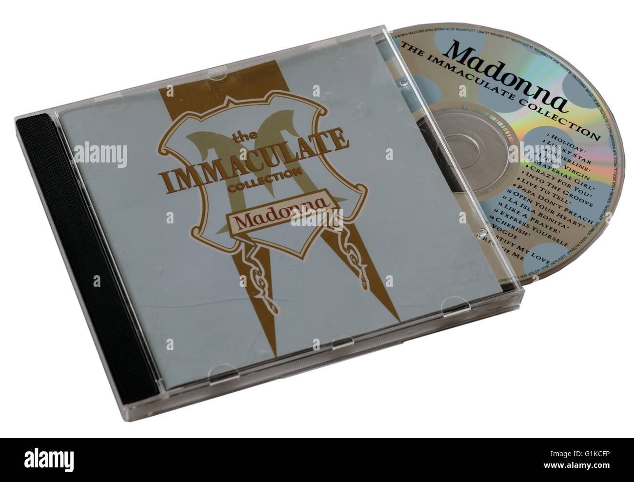 Madonna The Immaculate Collection CD - Stock Image