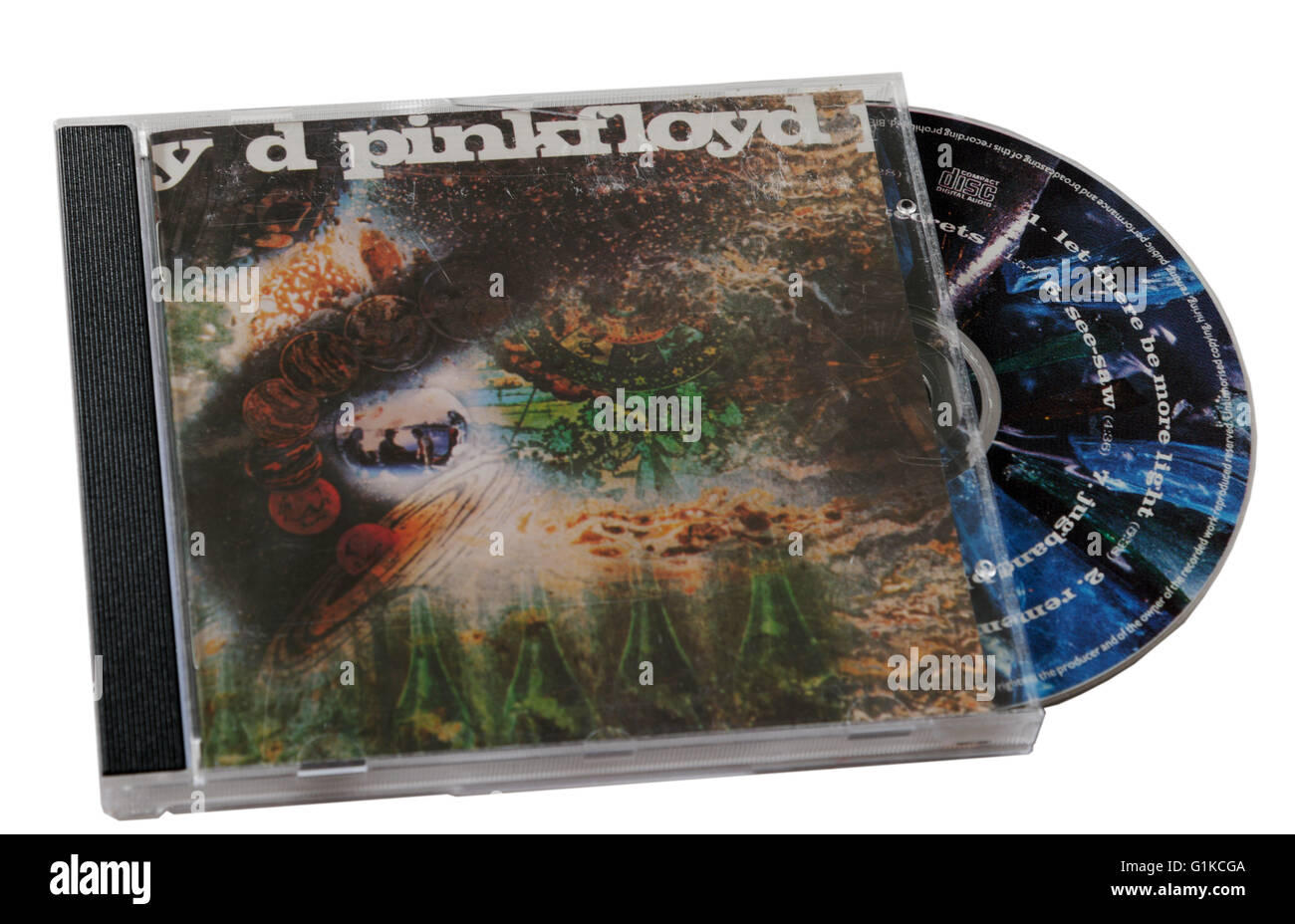 Pink Floyd A Saucerful of Secrets CD - Stock Image