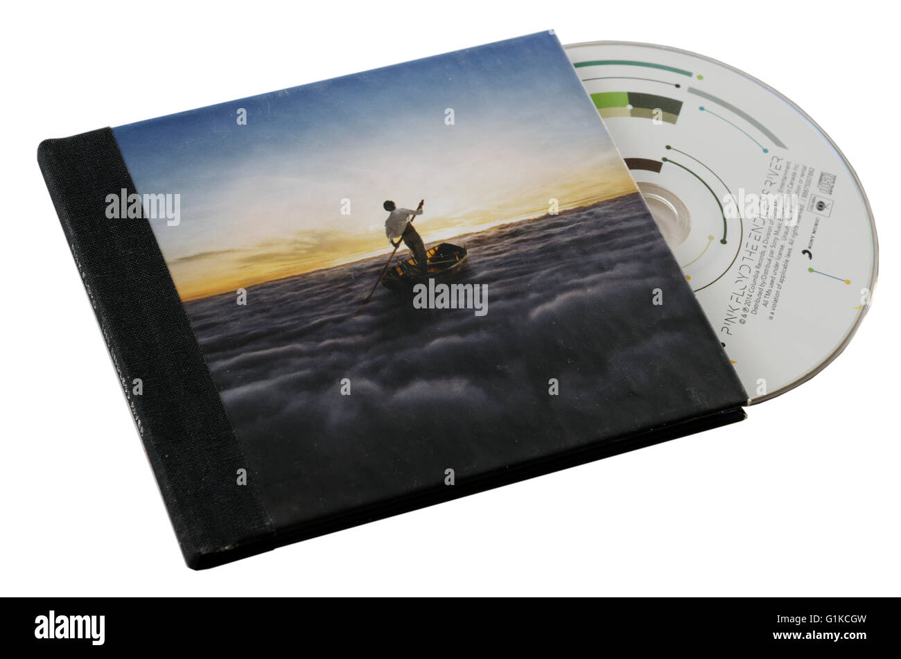 Pink Floyd The Endless River CD - Stock Image