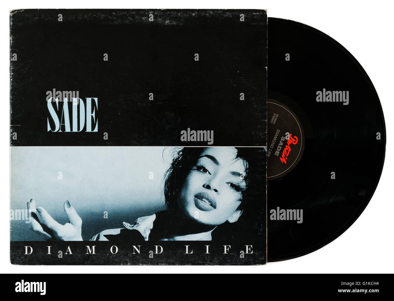 Sade Diamond Life album Stock Photo