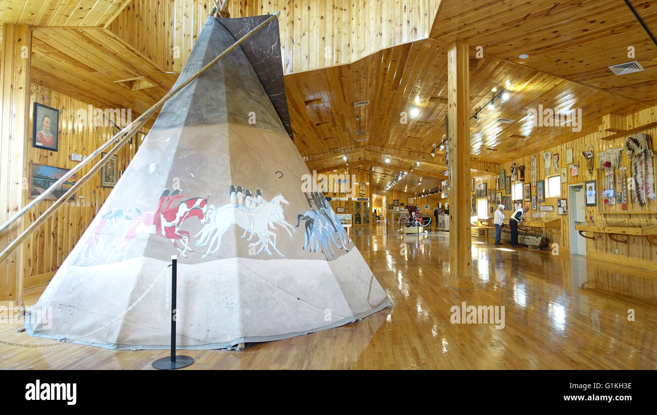 Visitors Center Centre Indian Artifacts Culture Crazy Horse Memorial High Resolution Stock Photography And Images Alamy
