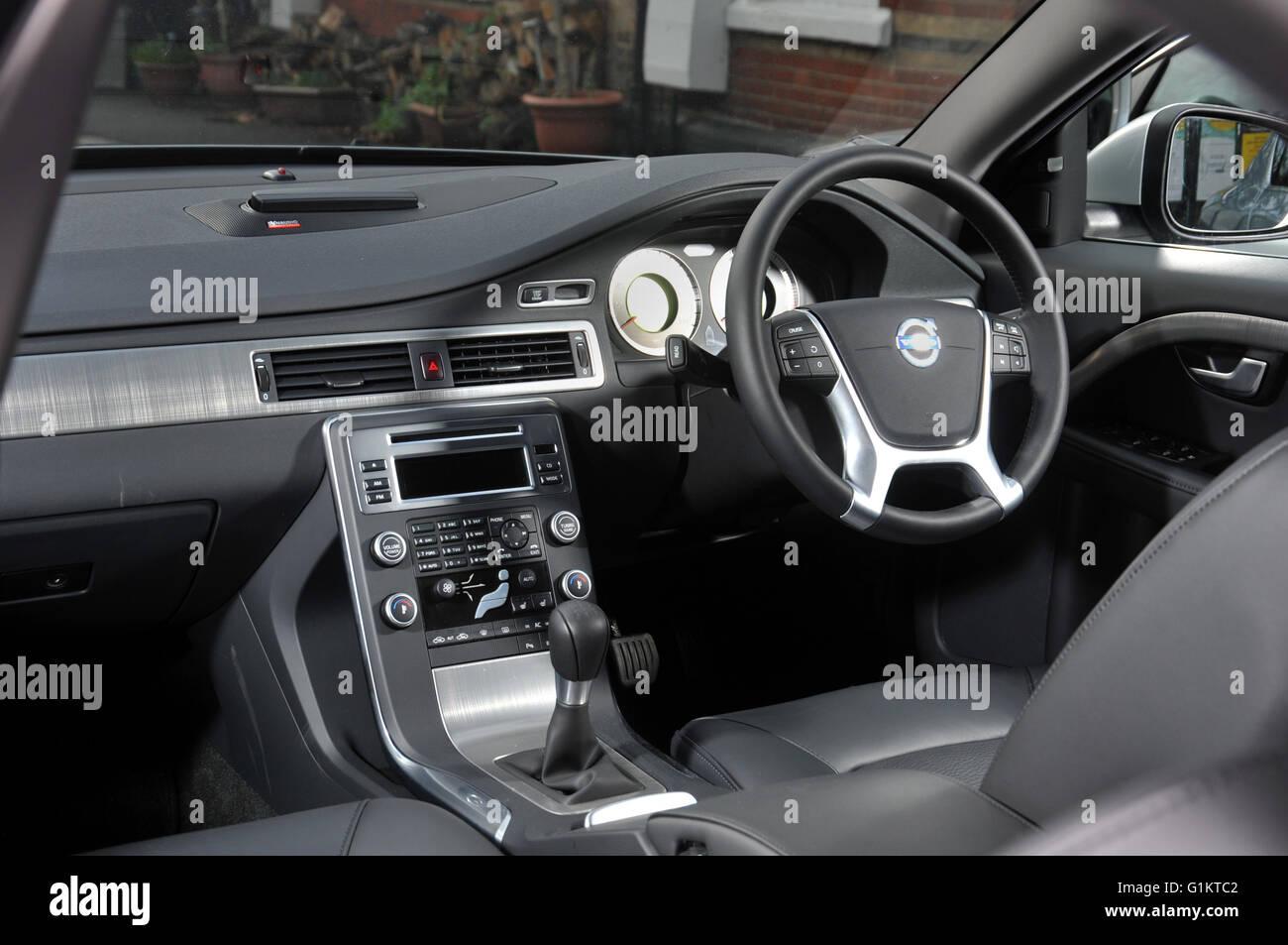 2009 Volvo S80 Premium Saloon Sedan Car Interior Stock Photo Alamy
