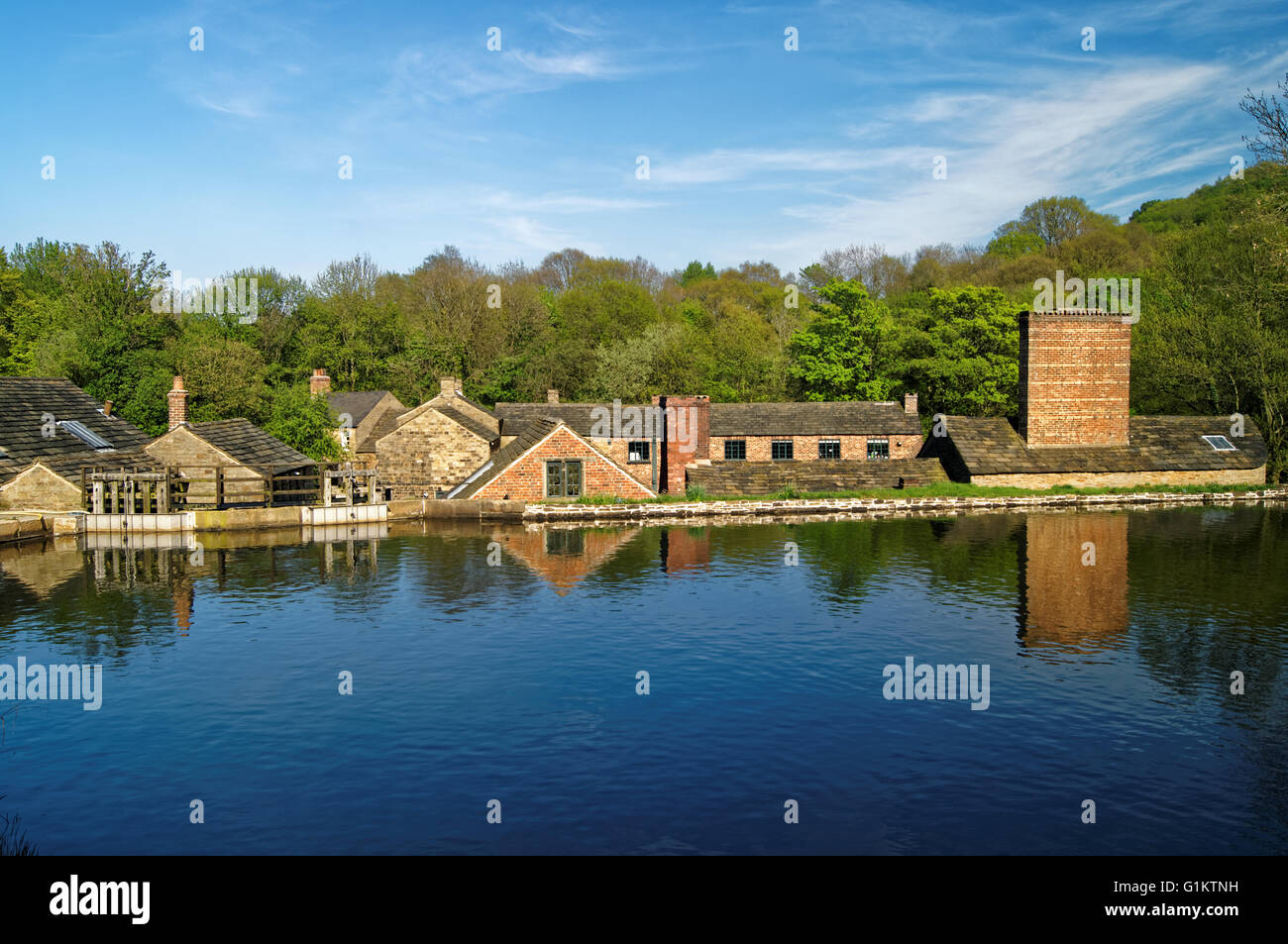 UK,South Yorkshire,Sheffield,Abbeydale Industrial Hamlet - Stock Image