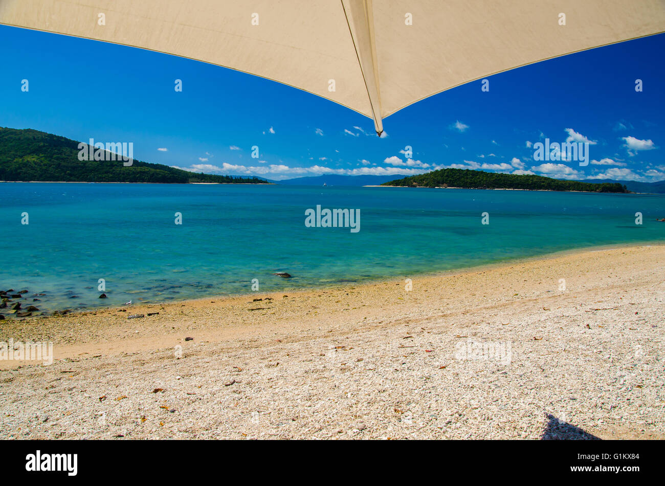 Holiday on Daydream Island. - Stock Image