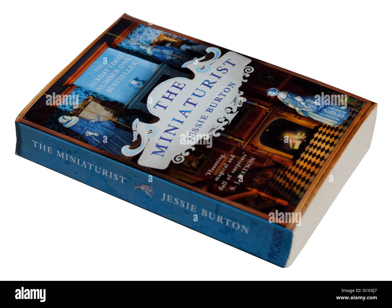 The Miniaturist by Jessie Burton - Stock Image