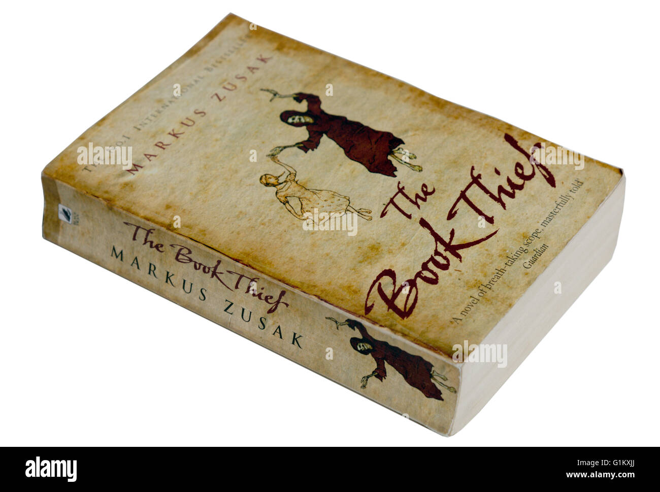 The Book Thief by Markus Zusak - Stock Image