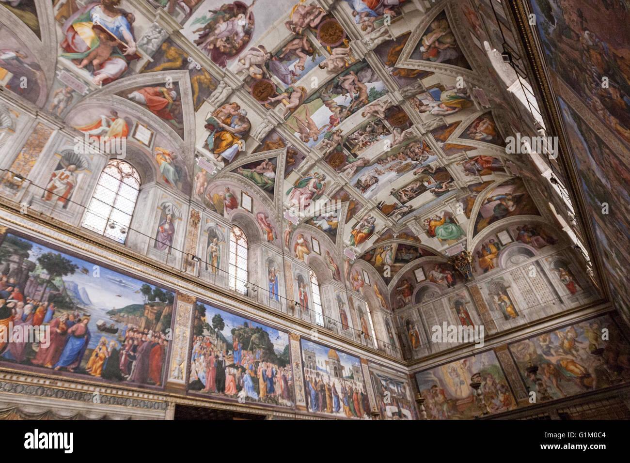 Sistine Chapel Ceiling Pics Integralbook