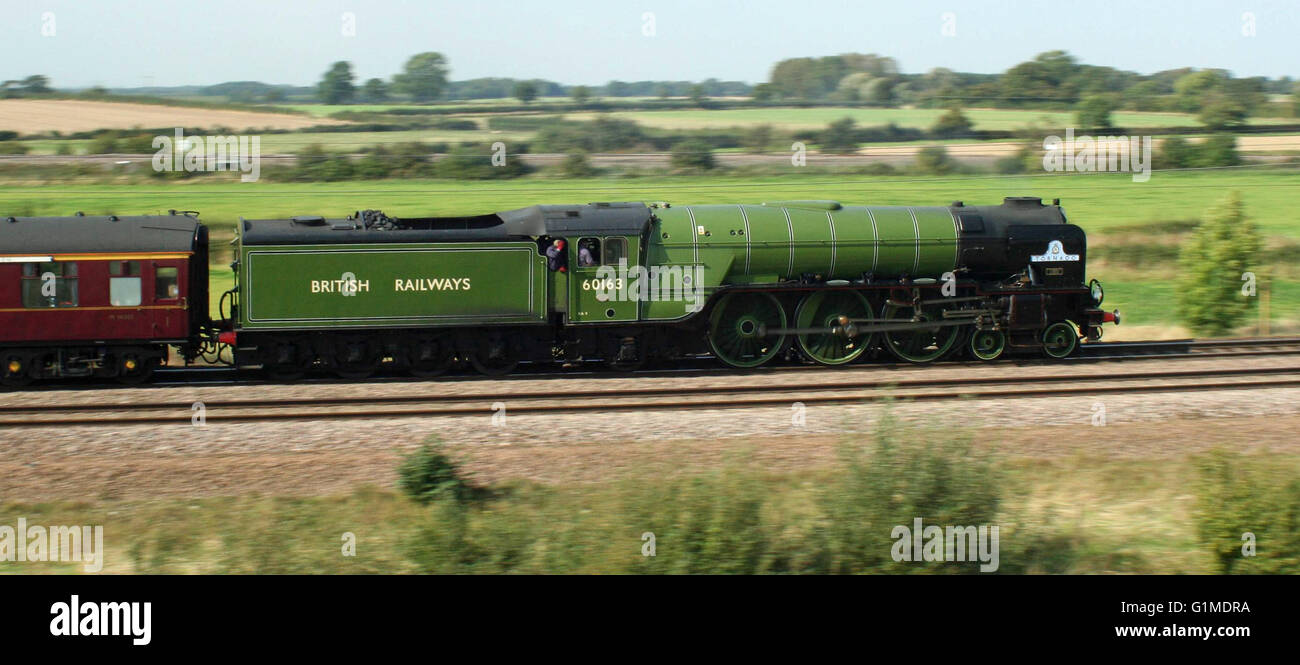 Tornado approaching Colton South Junction south of York Yorkshire - Stock Image