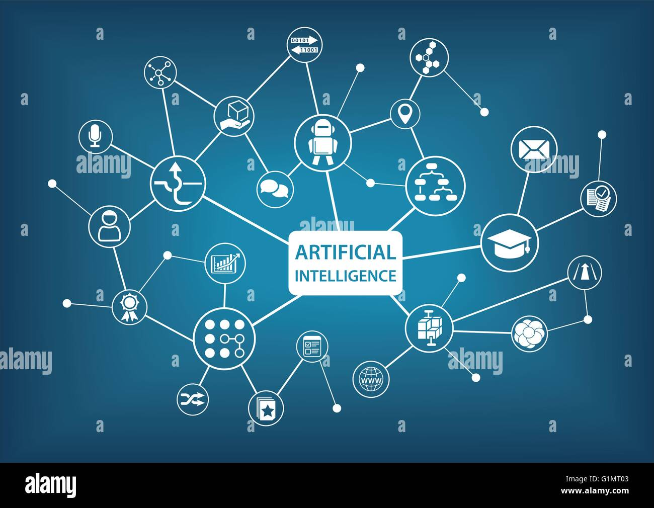 Artificial intelligence ai infographic vector illustration stock artificial intelligence ai infographic vector illustration ccuart Choice Image