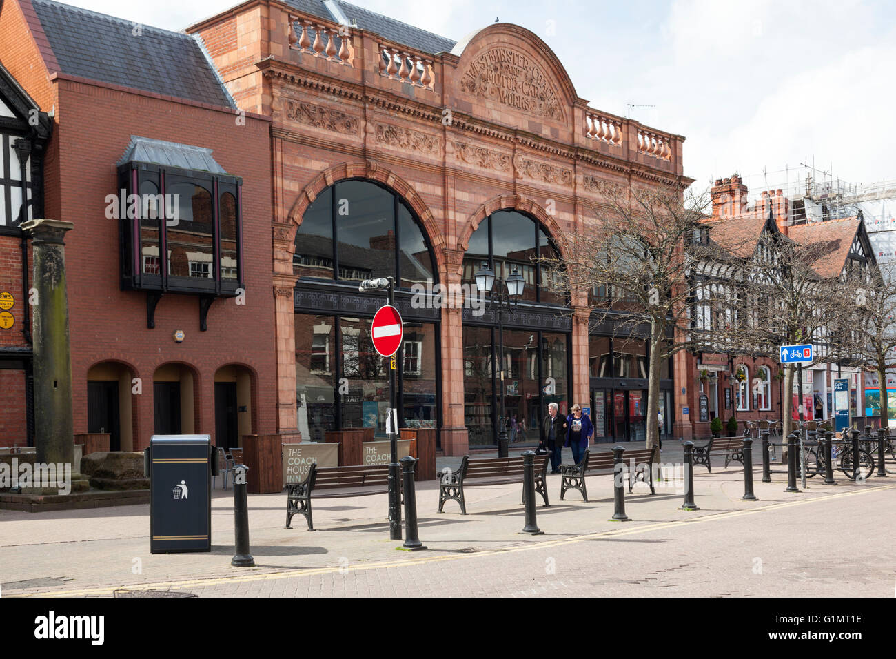 Westminster Coach and Motor Car Works, Chester, Cheshire, England - Stock Image