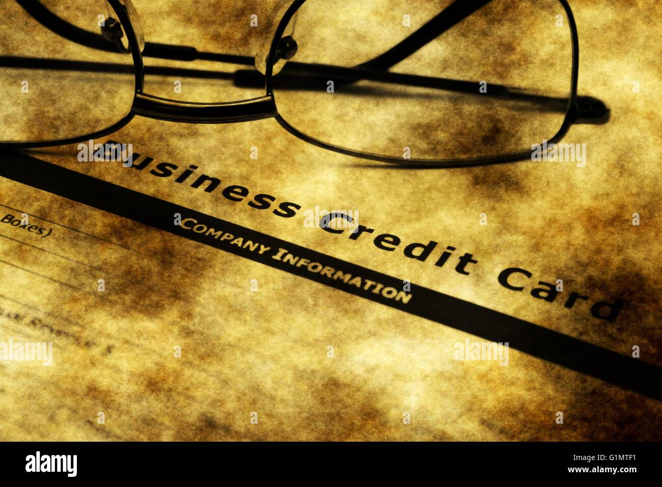Business credit card application grunge concept stock photo business credit card application grunge concept reheart Gallery