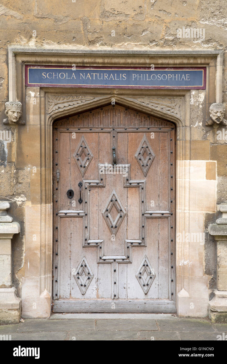 Bodleian Library, Oxford University, England, UK - Stock Image