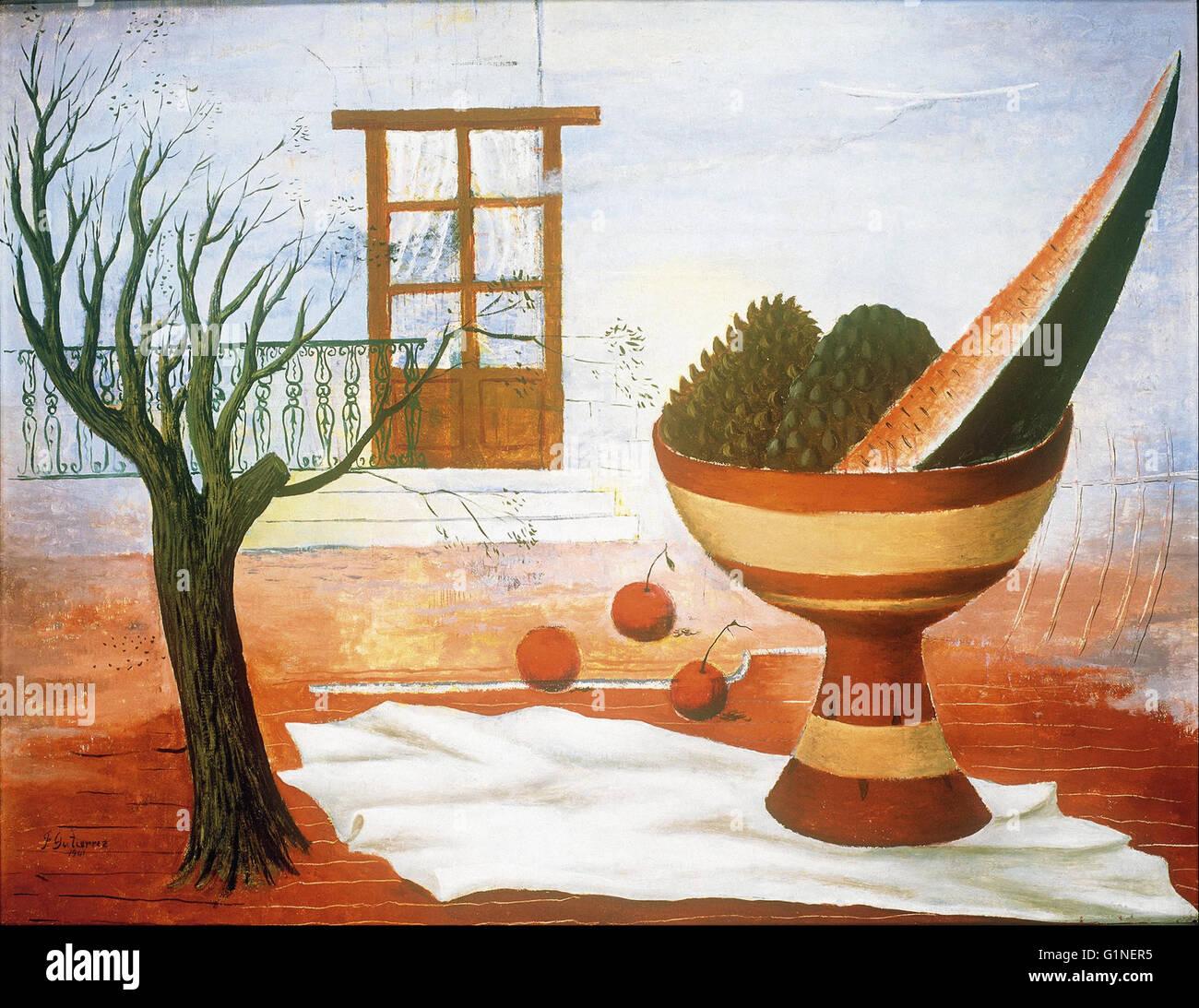 Francisco Gutierrez - Still Life -  Museo Nacional de Arte de Mexico - Stock Image
