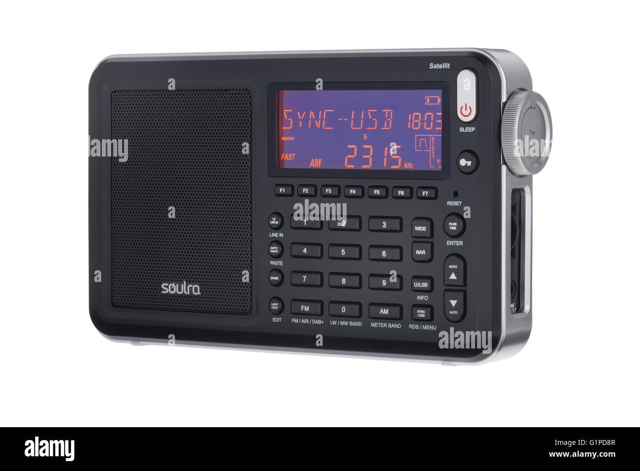 Shortwave Stock Photos Images Alamy 25 Metres Range Short Wave Am Transmitter Long Fm And Dab Portable