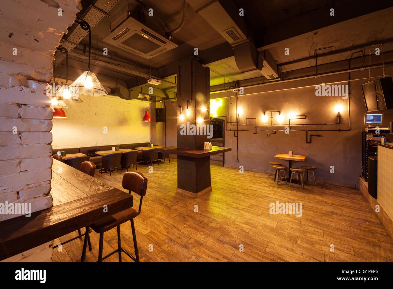 Empty dance floor. Night club interior Stock Photo: 104371406 - Alamy
