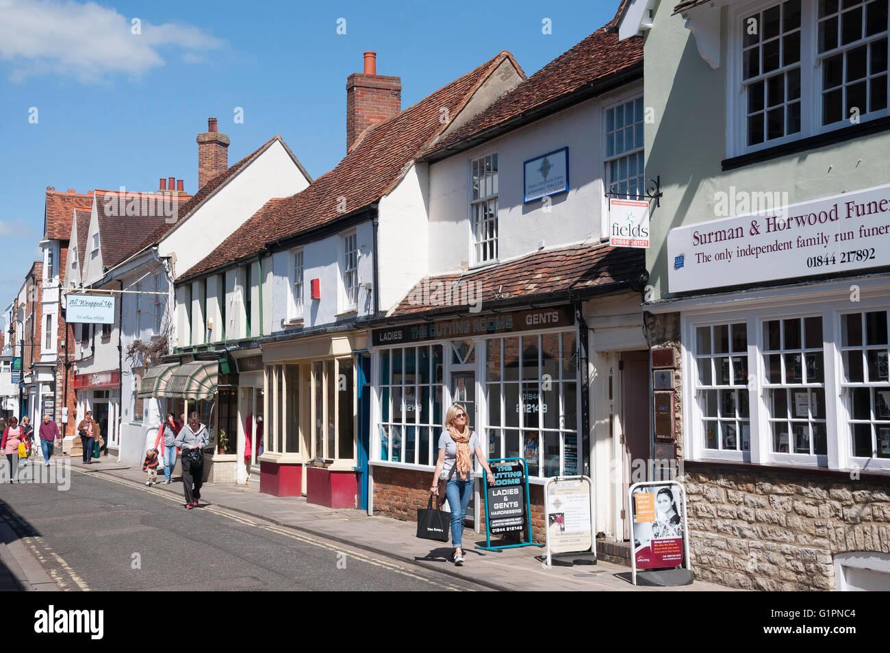 Butter Market, Thame, Oxfordshire, England, United Kingdom - Stock Image