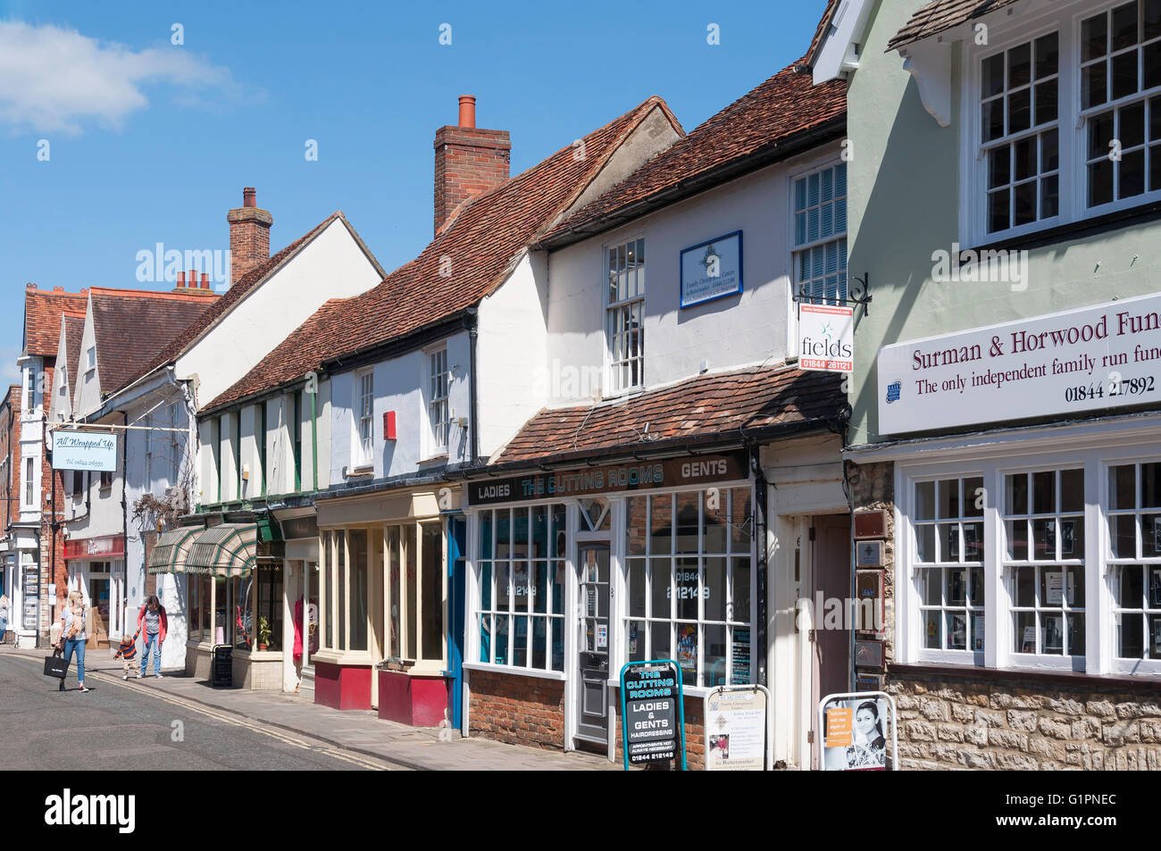 Butter Market, Thame, Oxfordshire, England, United Kingdom - Stock Image