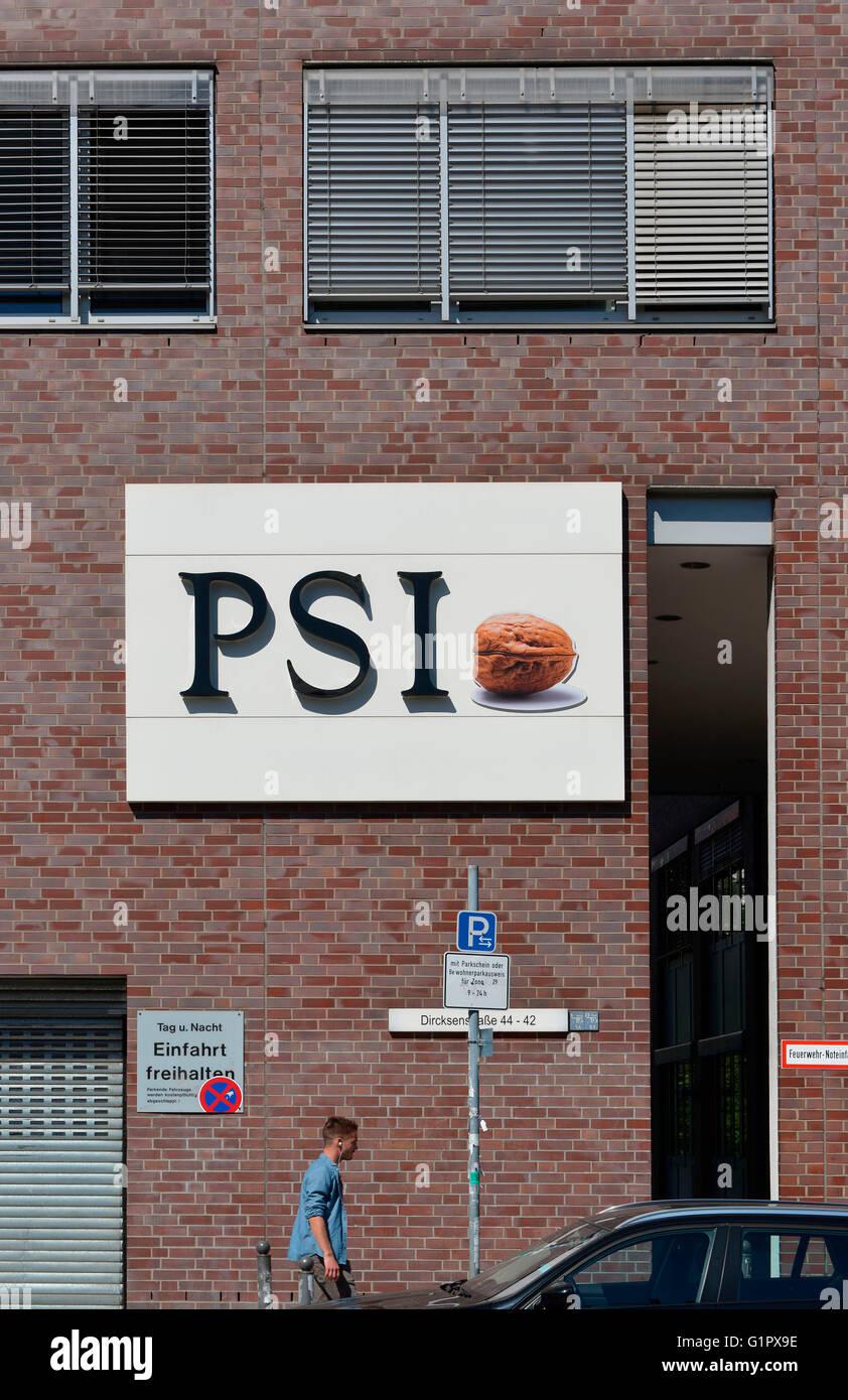PSI, Dircksenstrasse, Mitte, Berlin, Deutschland - Stock Image