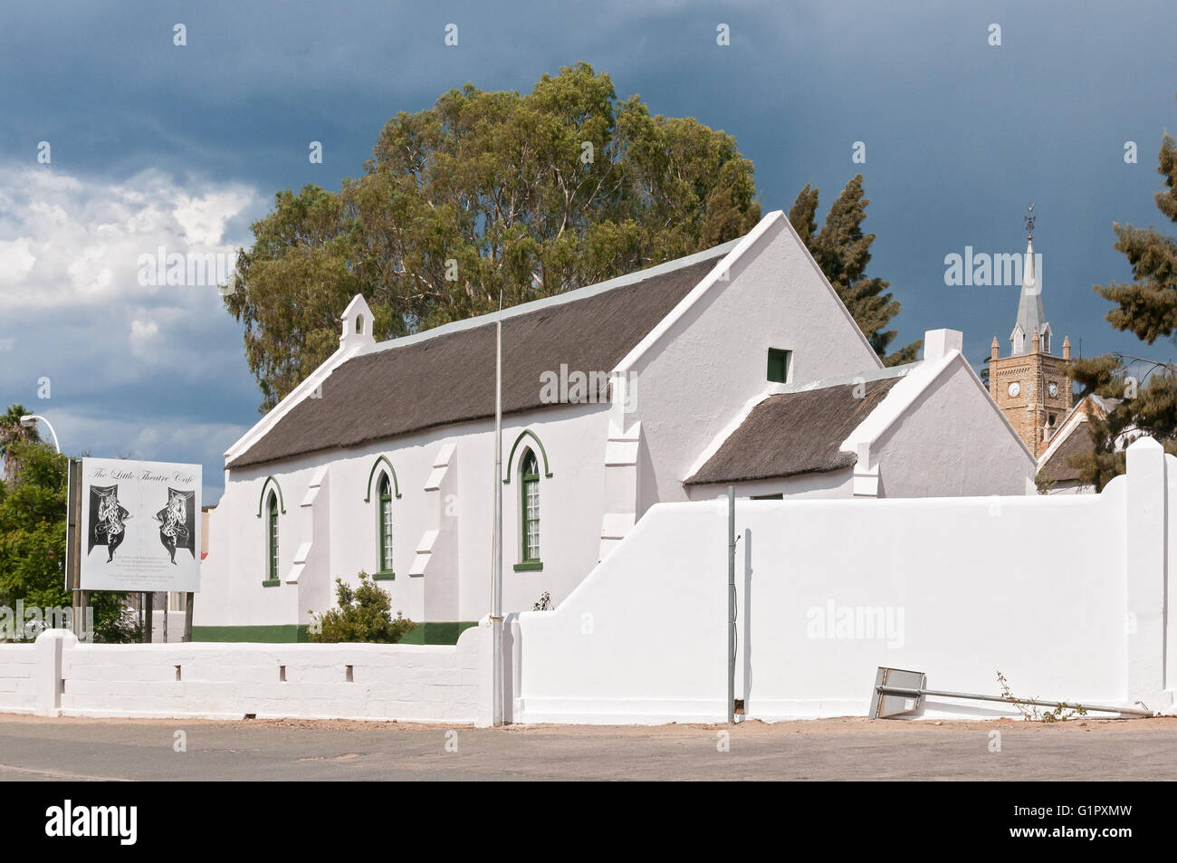 UNIONDALE, SOUTH AFRICA - MARCH 5, 2016: The Pinkster Protestant Church in Uniondale - Stock Image