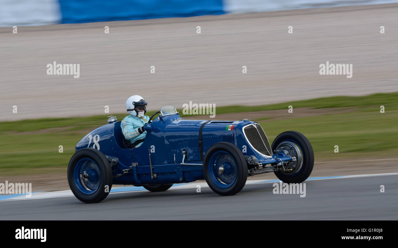 Pre 1950 Grand Prix car Maserati 8CM - Stock Image