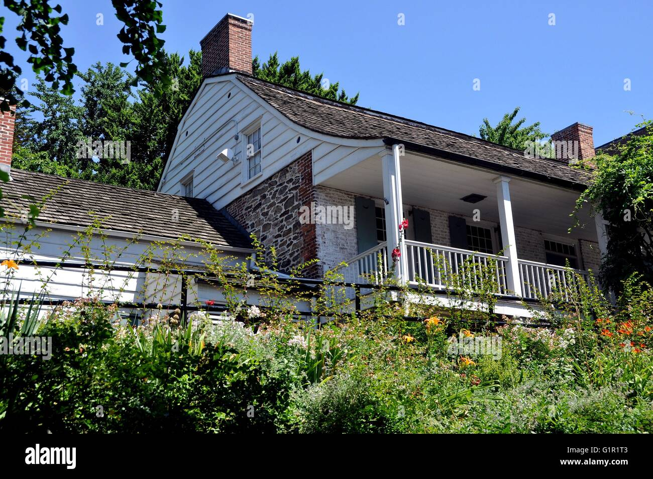 New York City 1784 Dyckman Farmhouse Museum Manhattan S Last Dutch