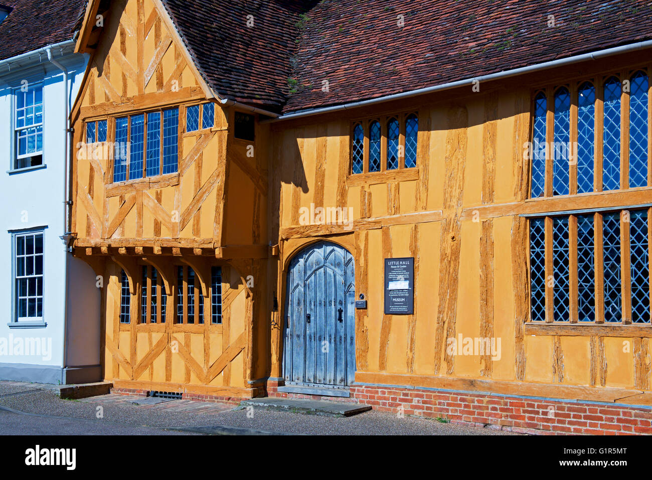 Little Hall, Lavenham, Suffolk, England UK - Stock Image