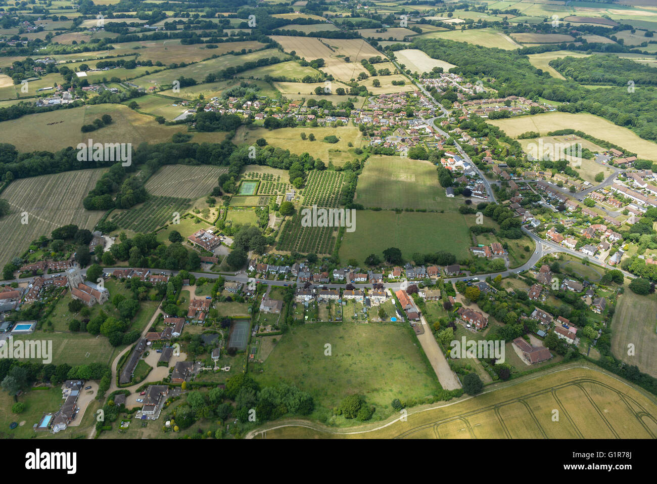 Kent Village Stock Photos Amp Kent Village Stock Images Alamy