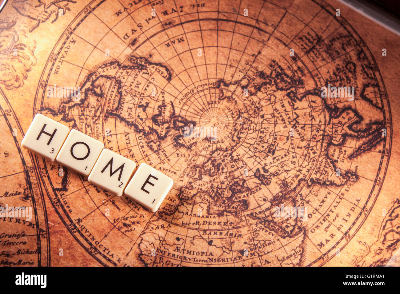 Russia map vector stock photos russia map vector stock images alamy the text home on a brown world map stock image gumiabroncs Images