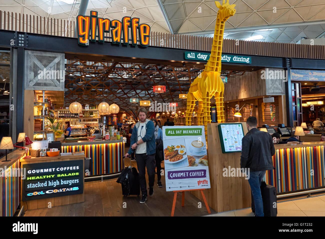 Giraffe Restaurant London Stansted