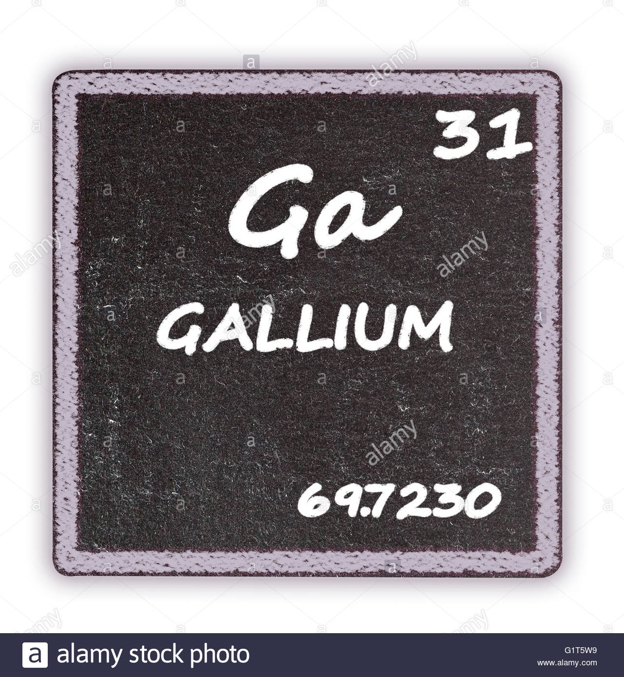 Gallium Chemical Element Stock Photos Gallium Chemical Element