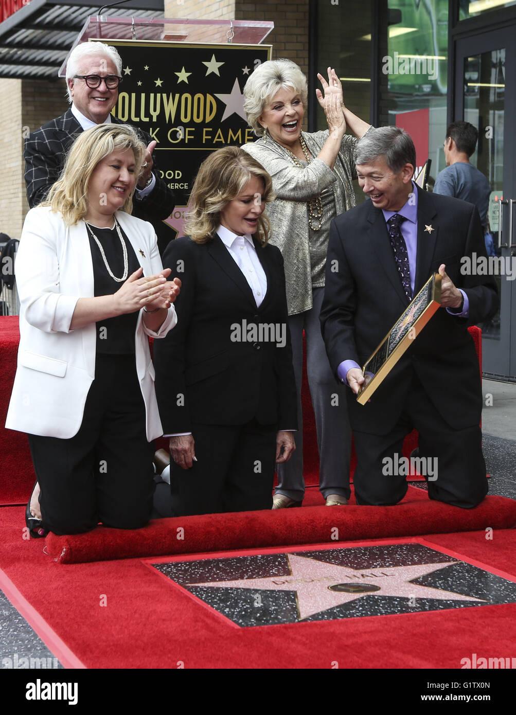Los Angeles, California, USA. 19th May, 2016. Hollywood Chamber of Commerce Chair of the Board Fariba Kalantari, - Stock Image