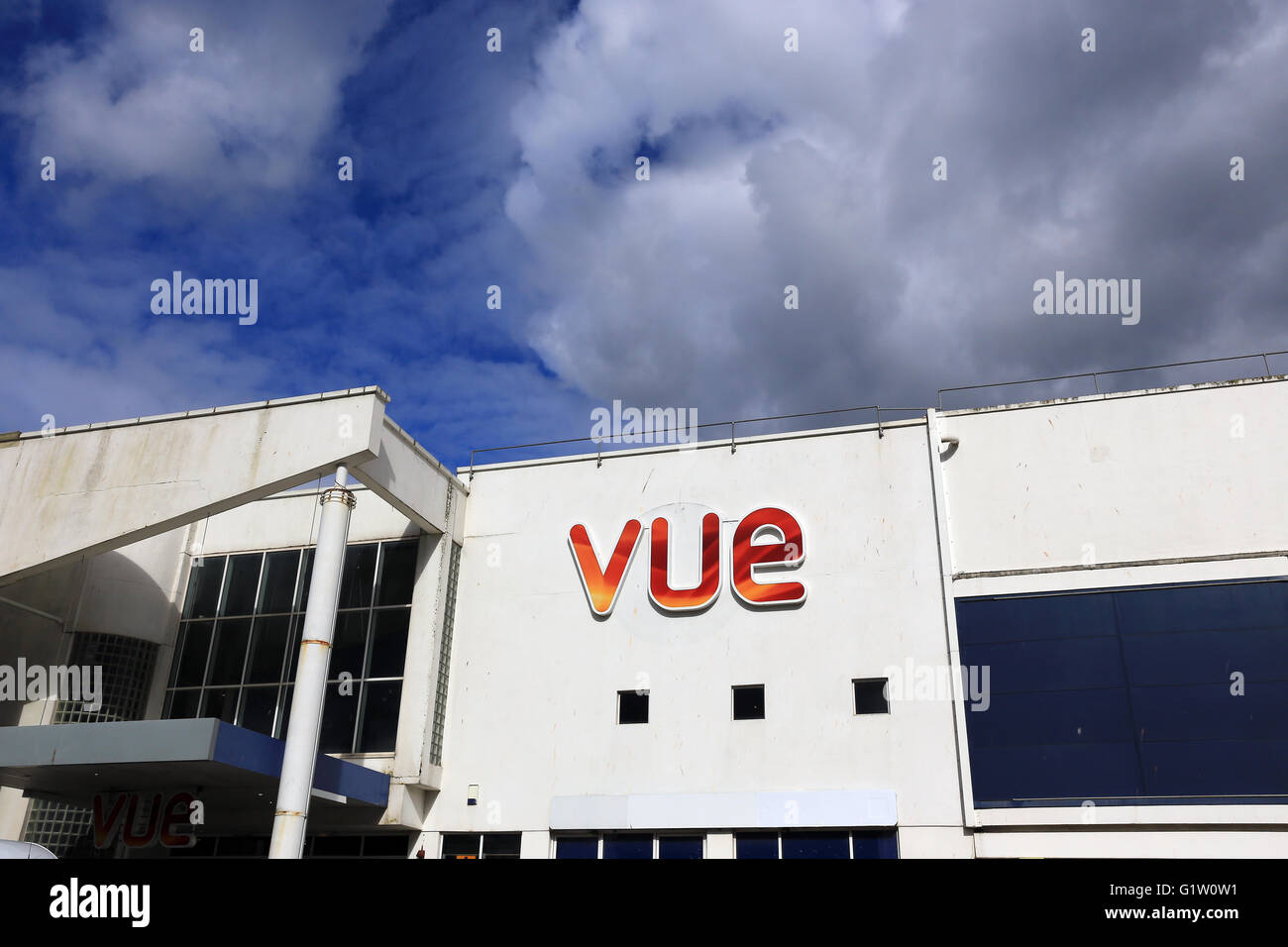 vue cinema, mainstream movies- state-of-the-art chain cinema with family deals. - Stock Image