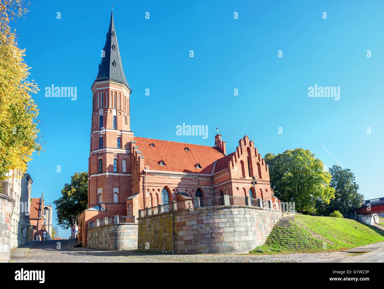 Vytautas Church, Kaunas, Lithuania - Stock Image