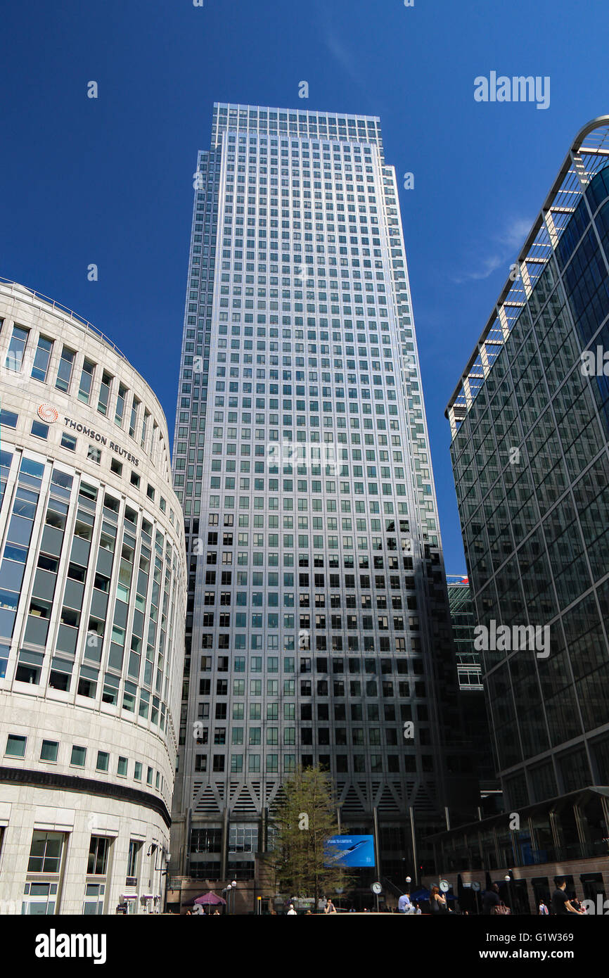 Reuters Office Canary Wharf London Stock Photos & Reuters