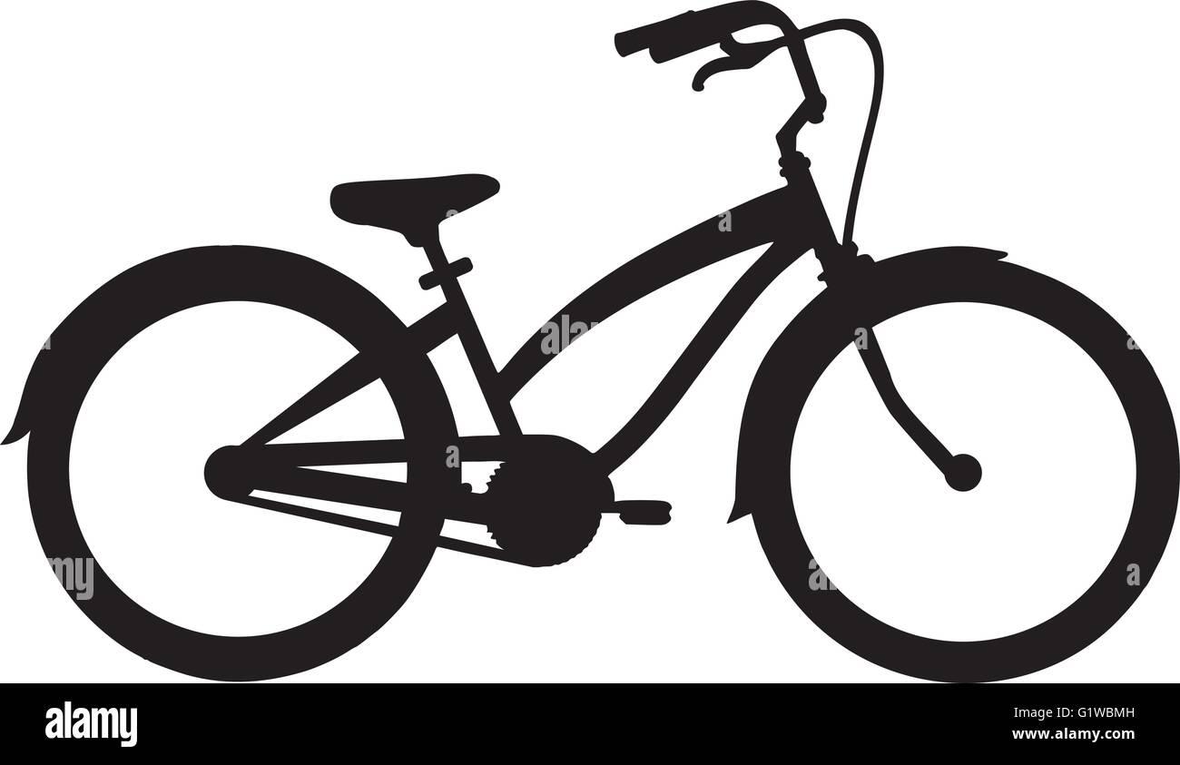 Cruiser Bike - Stock Image