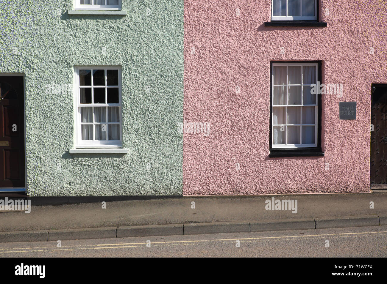 Pink Painted House Stock Photos & Pink Painted House Stock Images ...