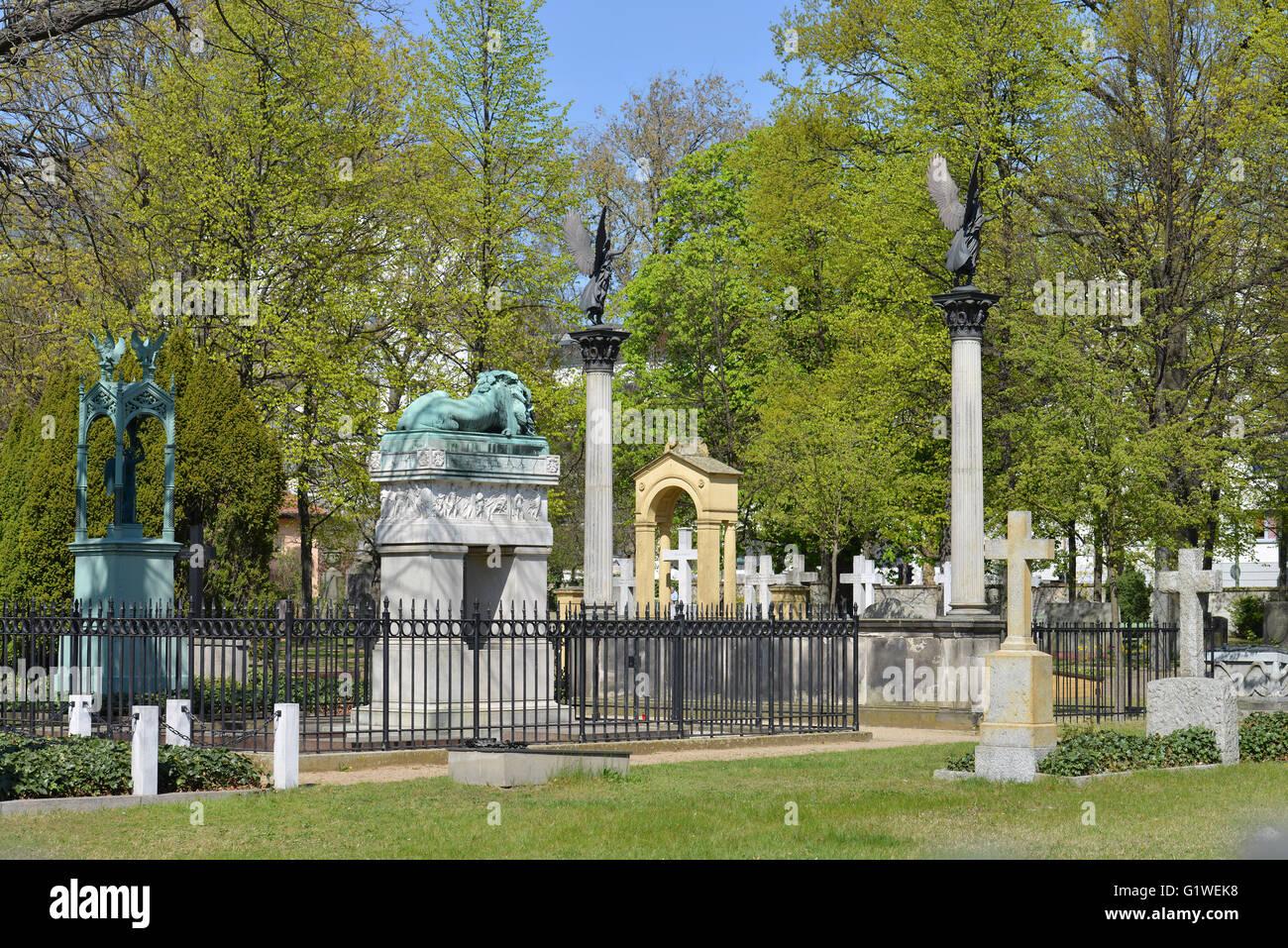 Invalidenfriedhof, Scharnhorststrasse, Mitte, Berlin, Deutschland Stock Photo