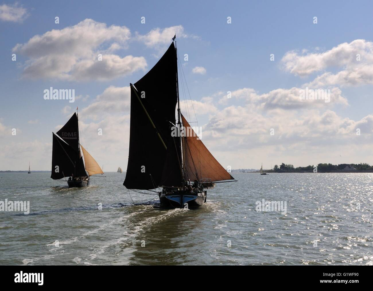 Thames Barges Stock Photos Thames Barges Stock Images Alamy