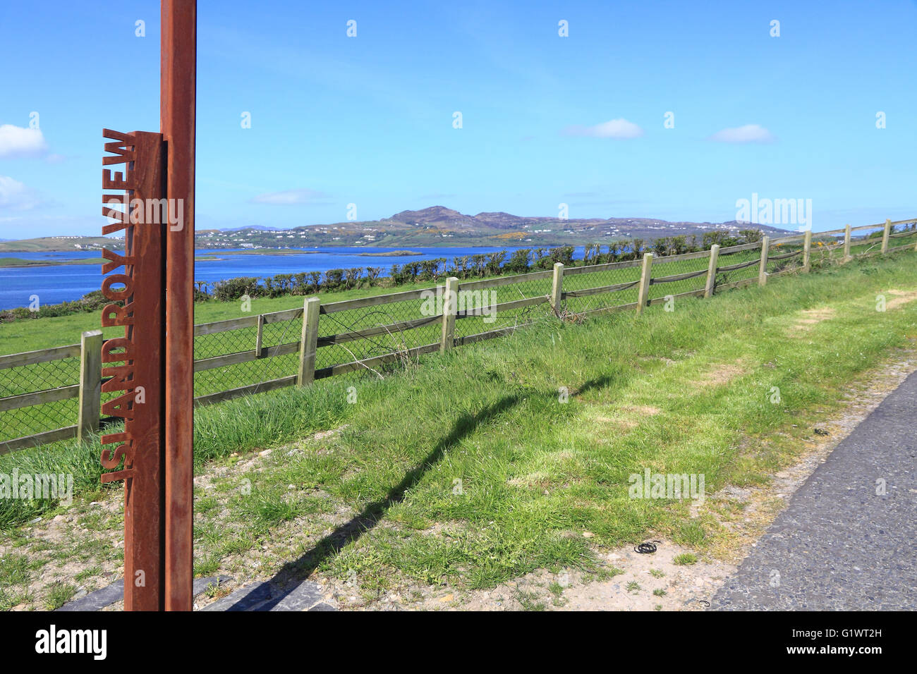 Island Roy View, Fanad, Donegal, Ireland - Stock Image