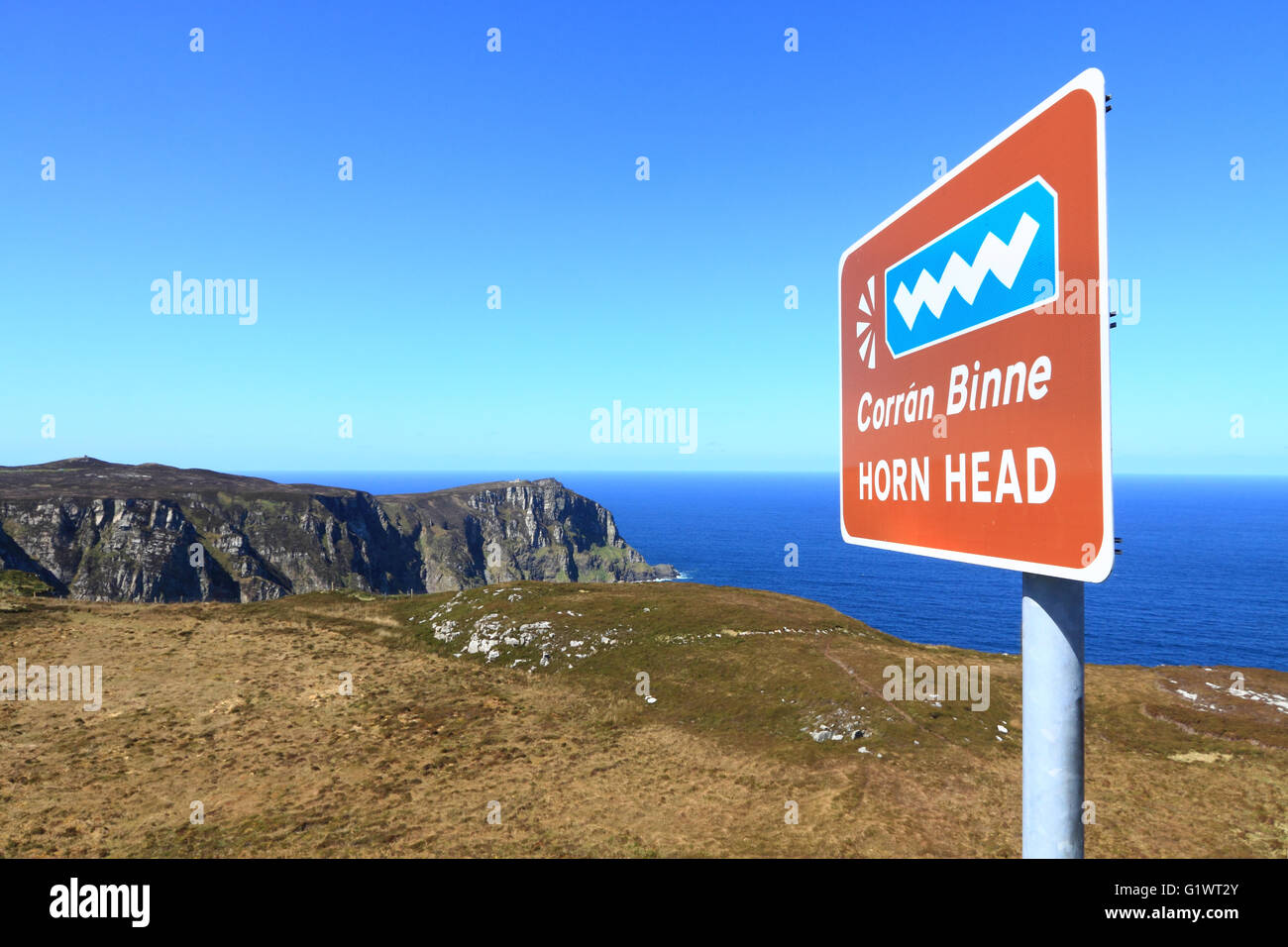 Horn Head, north Donegal, Ireland - Stock Image